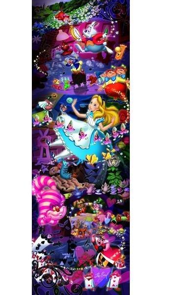 【進口拼圖】迪士尼 DISNEY-愛麗絲夢遊仙境 950片 D-950-588