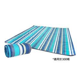 【【蘋果戶外】】Cypress Creeky 賽普勒斯 CC-M301 藍條紋 300x300 鋁箔墊 防潮地墊 沙灘墊 野餐墊 防潮墊 露營墊 睡墊