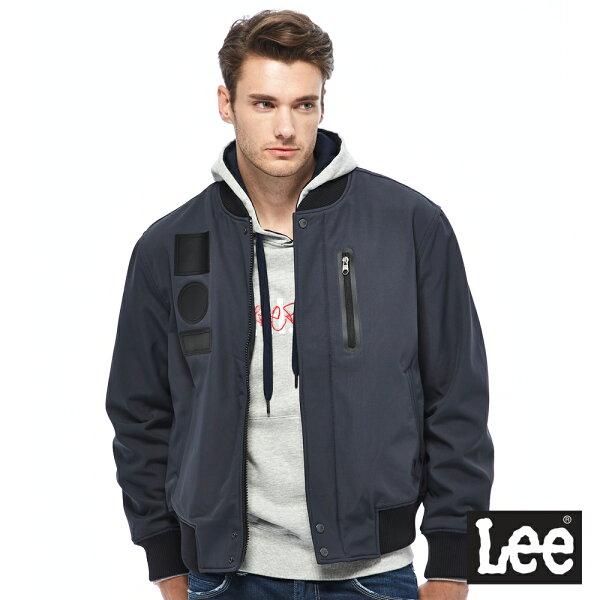Lee飛行夾克UR-男款-深藍