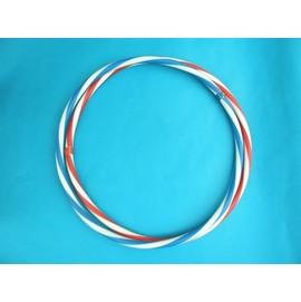 呼拉圈 一般雙色呼啦圈(9號.藍白色) 直徑51cm~台灣製造/一個入{促39}