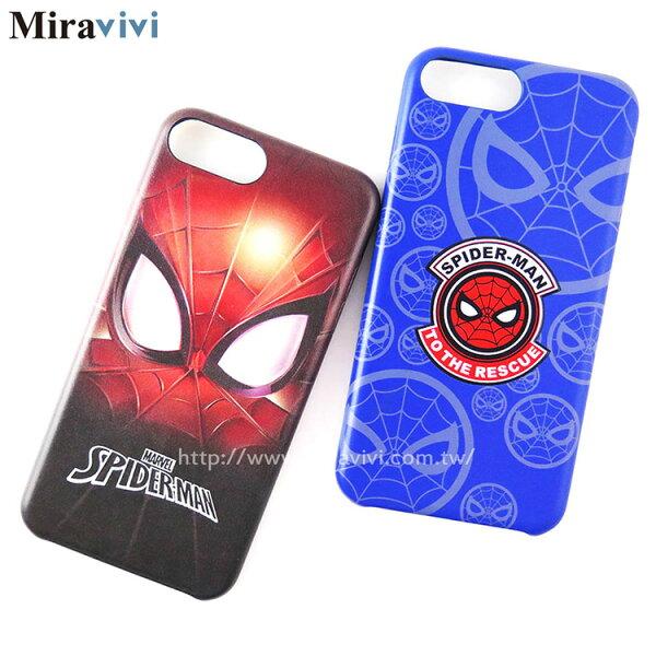 MARVEL漫威iPhone6PlusiPhone6sPlus(5.5吋)蜘蛛人經典版超薄皮革背蓋