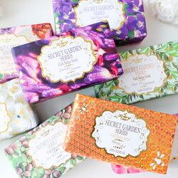 歐洲原裝進口 秘密花園主題系列手工皂 250g 身體皂 肥皂 香皂 手工皂 土耳其製造 橄欖之鄉 Zey teen【B063133】