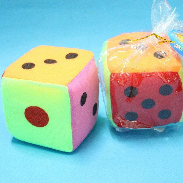 安全骰子 中海綿骰子 4吋骰子 10.5cm x 10.5cm/一袋10個入{促50}~CF61317