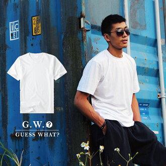 G.W.GILDAN美國100%純棉圓領【素色T恤 紅】短袖素T素面/男女情侶/寬鬆休閒/大小尺碼/客製化印製♛GuessWhat