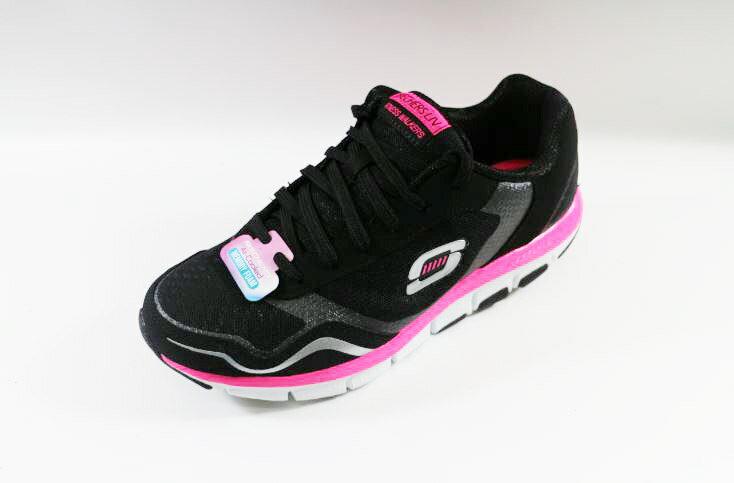 [陽光樂活]SKECHERS (女) 跑步系列 智慧生活 LIV 健走鞋 - 57051BKHP