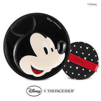 韓國 THE FACE SHOP 迪士尼聯名 BB完美修容彈力感氣墊粉餅(米奇) 氣墊粉餅 米老鼠【B062062】
