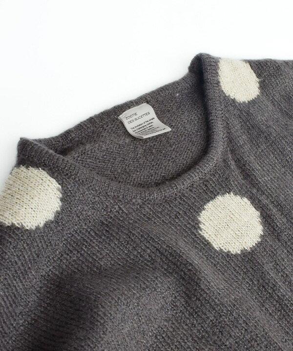 日本 e-zakkamania  /  秋冬可愛點點針織毛衣  /  32603-2000289  /  日本必買 日本樂天直送  /  件件含運 8
