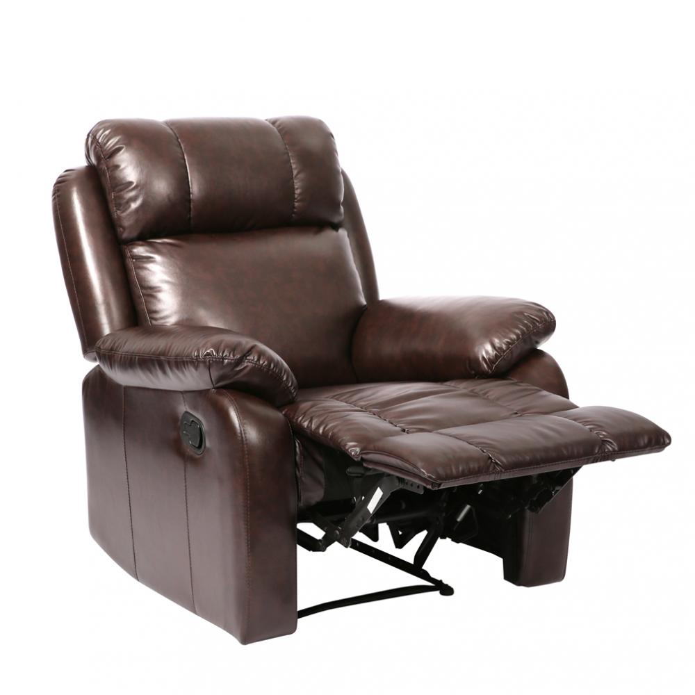 recliner chair Classic Leather Living Room reclining Furniture 0