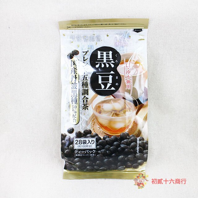 【0216零食會社】日本京都茶農-黑豆茶(28入)140g