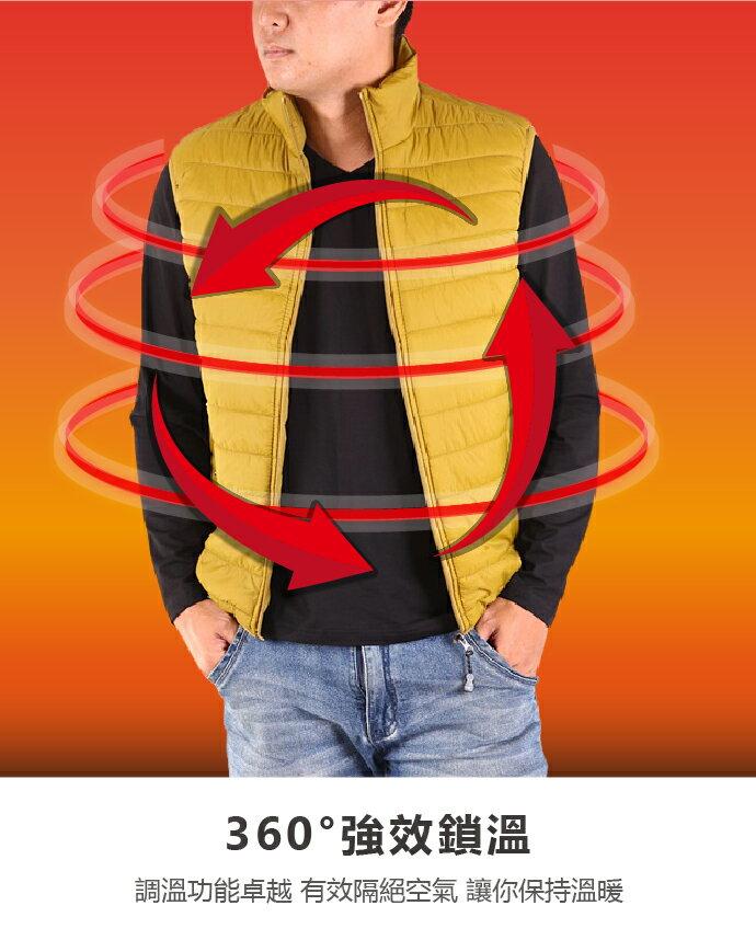 CS衣舖 防風鋪棉保暖輕量背心 三色 2901 1
