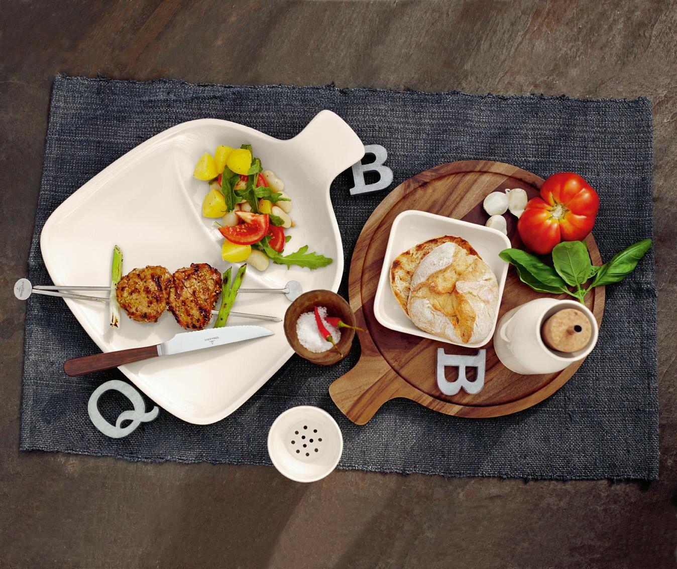 德國唯寶Villeroy & Boch 唯寶 Artesano 原木盛菜盤 點心盤 前菜盤 3