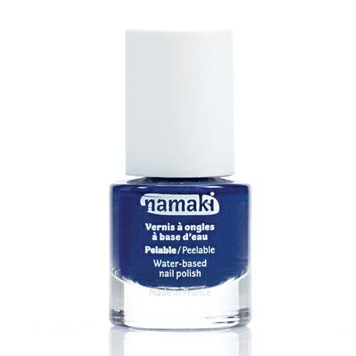 法國 namaki  幼兒專用可撕式水性指甲油 - 寶石藍