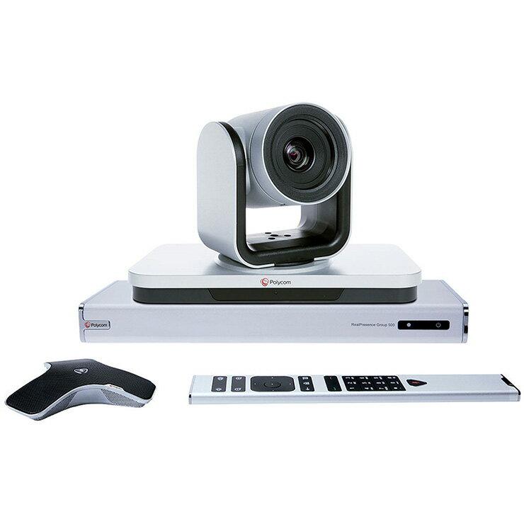 Polycom Group 500-1080P (IP)單點, 含 EagleEyeIV-12倍鏡頭(可選購升級多點License) 視訊/語音會議器材