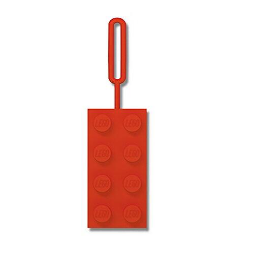 【 樂高積木 LEGO 】造型識別吊牌 - 紅色 - 限時優惠好康折扣