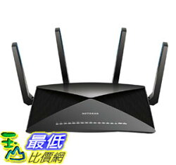 [107美國直購] 路由器 NETGEAR Nighthawk X10 AD7200 802.11ac/ad WiFi Router Compatible with Amazon Alexa (R9000)
