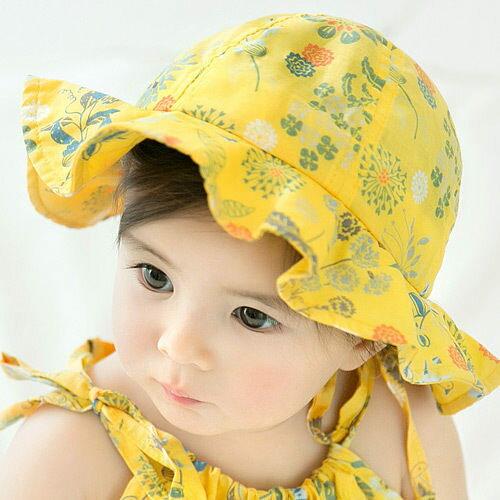 寶寶帽漁夫帽遮陽帽嬰兒帽盆帽嬰兒帽防曬必備CA5316好娃娃