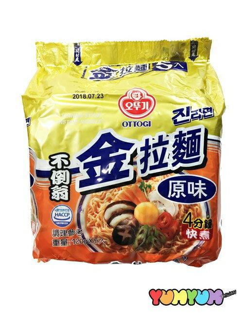 韓國不倒翁(OTTOGI) 金拉麵(原味)