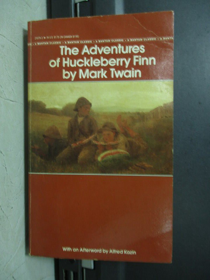 【書寶二手書T5/原文小說_LPB】The Adventures Of Huckleberry_Mark Twain