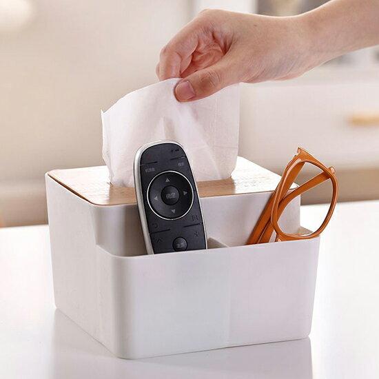 ●MYCOLOR●日式置物面紙盒紙巾盒高檔家用創意餐巾紙抽盒客廳車用抽紙盒【P488】