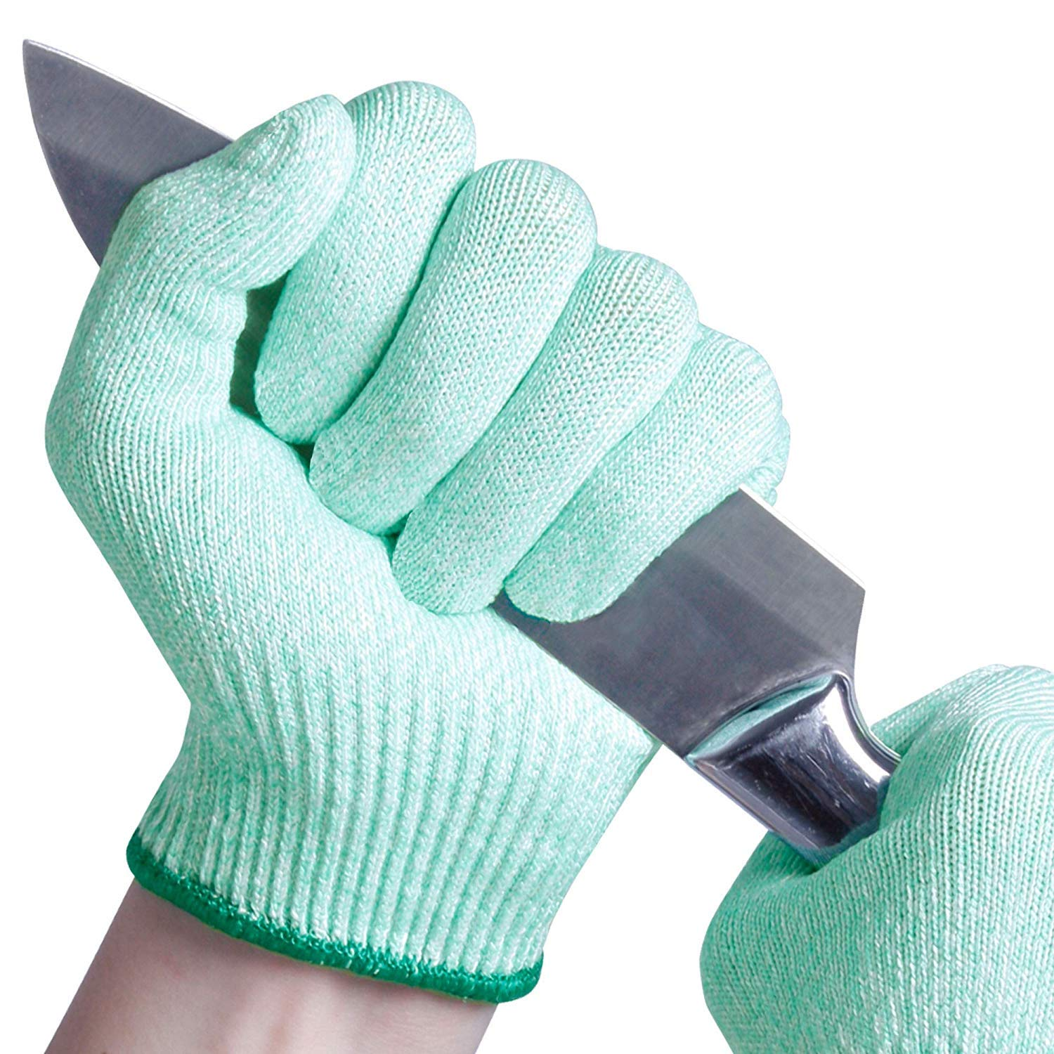 EVRIDWEAR Cut Resistant Gloves, Food Grade Level 5 Safety Protection  Kitchen Cuts Gloves For cutting, Chopping, Fish Fillet, Mandolin Slicing  and ...