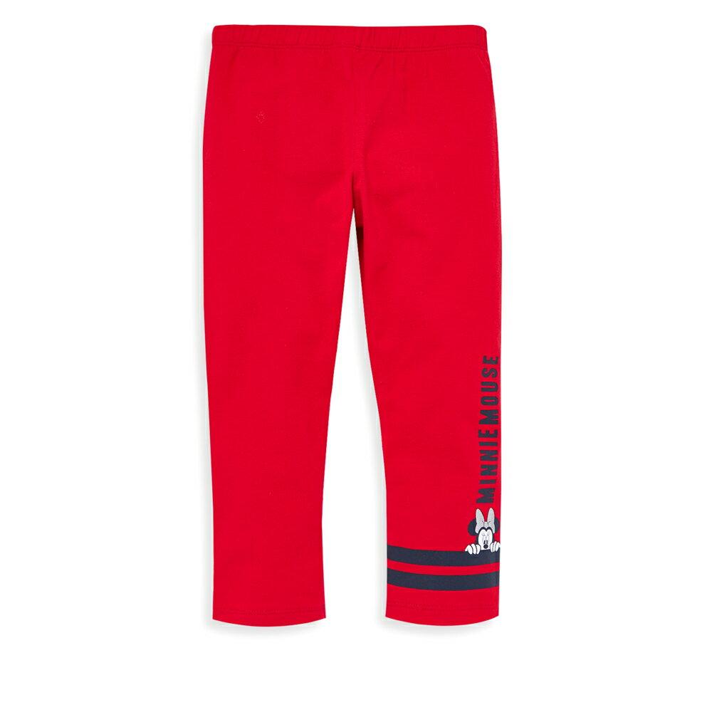 Disney 米妮系列害羞米妮彈力棉褲-紅色(好窩生活節) 1