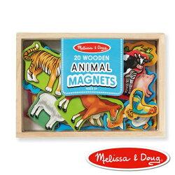 美國瑪莉莎 Melissa & Doug 益智遊戲(農場動物木質磁鐵貼)