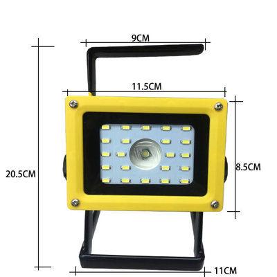 促銷 2400流明手提燈 L2晶片+22顆LED燈 手提探照燈 露營燈 露營燈 停電燈 烤肉燈 颱風燈 頭燈