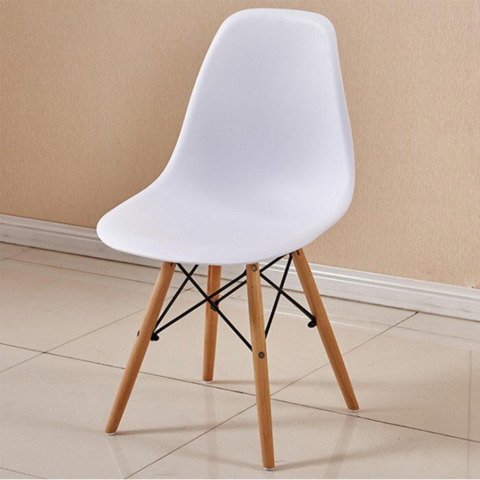 [創意生活U-LIFE] 北歐實木椅簡約休閒椅