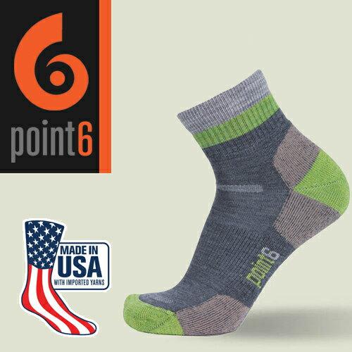 【鄉野情戶外用品店】 Point6 美國  block stripe 健行羊毛襪/美麗諾羊毛襪 運動襪 登山襪 戶外襪/1560