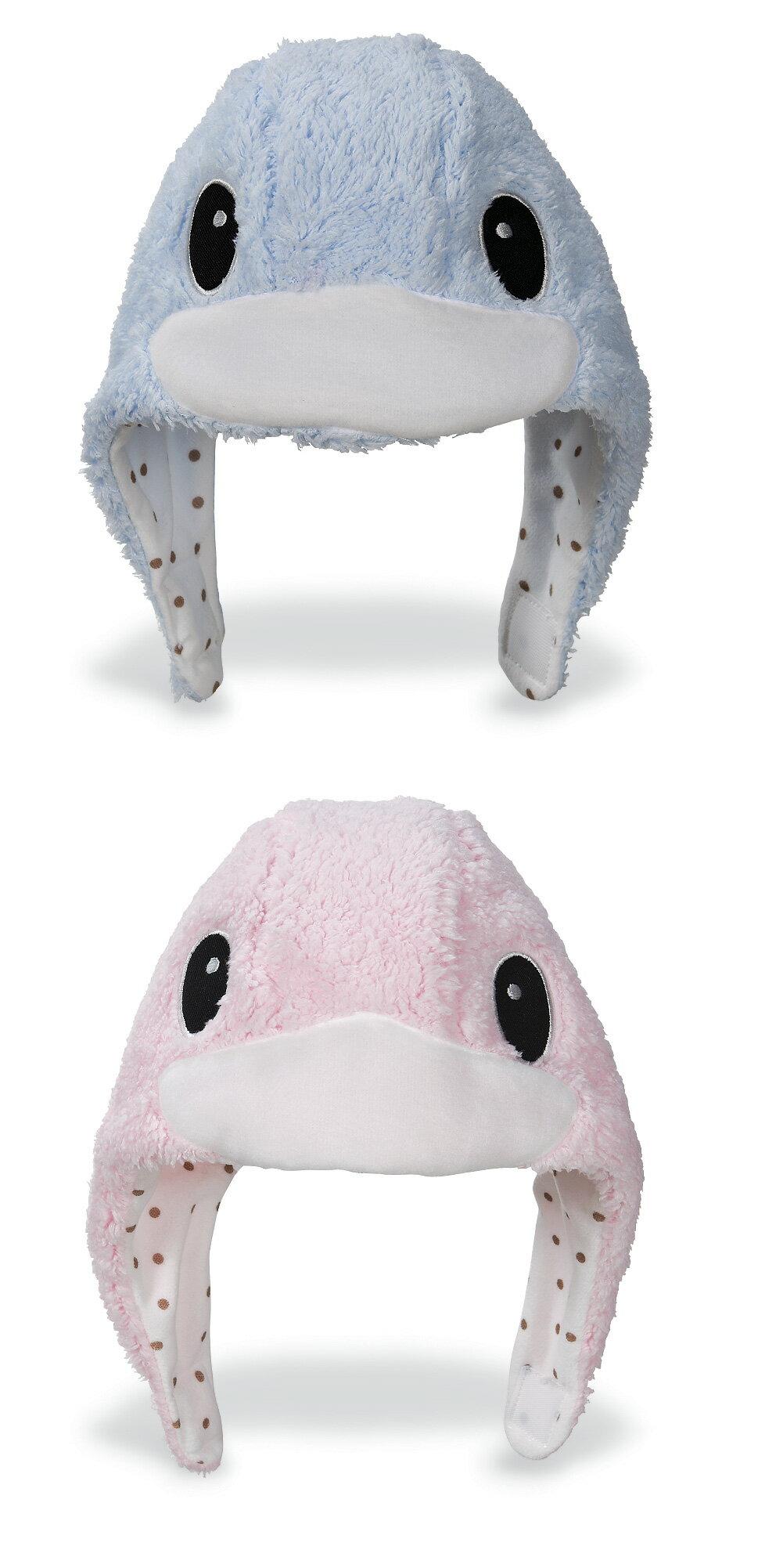 酷咕鴨 造型護耳帽(藍.粉)【德芳保健藥妝】(顏色隨機出貨)