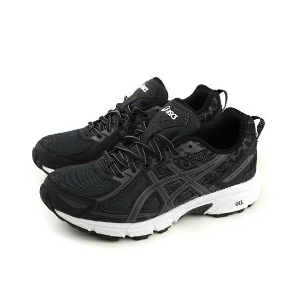 亞瑟士 ASICS GEL-VENTURE 6GS 運動鞋 童鞋 黑 大童 C744N-9095 no291