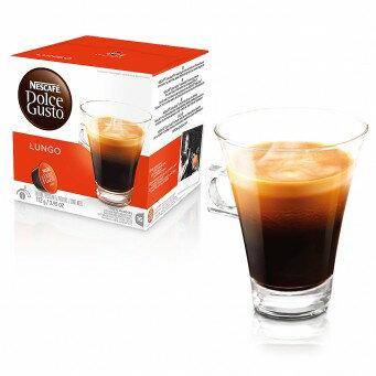 雀巢 DOLCE GUSTO 美式濃黑咖啡膠囊 LUNGO 16杯/盒 膠囊 咖啡 公司貨(全家最多限12盒) 無開發票