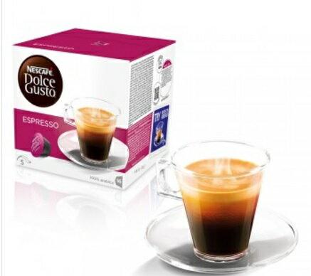 雀巢 DOLCE GUSTO 義式濃縮咖啡膠囊 ESPRESSO 膠囊 咖啡 公司貨(全家最多限15盒)