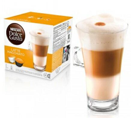 雀巢 DOLCE GUSTO 拿鐵咖啡膠囊 LATTE 膠囊 咖啡 單盒(全家最多限12盒) 無開發票