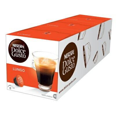 ^o^桔柚家^o^ 雀巢 DOLCE GUSTO 美式濃黑咖啡膠囊 LUNGO 16杯/盒 膠囊 咖啡 公司貨(全家最多限4條) 無開發票
