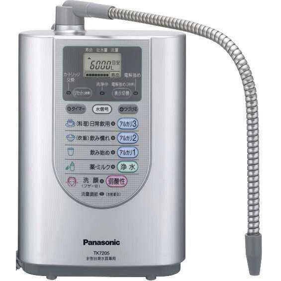 國際牌鹼性離子整水器TK-7205