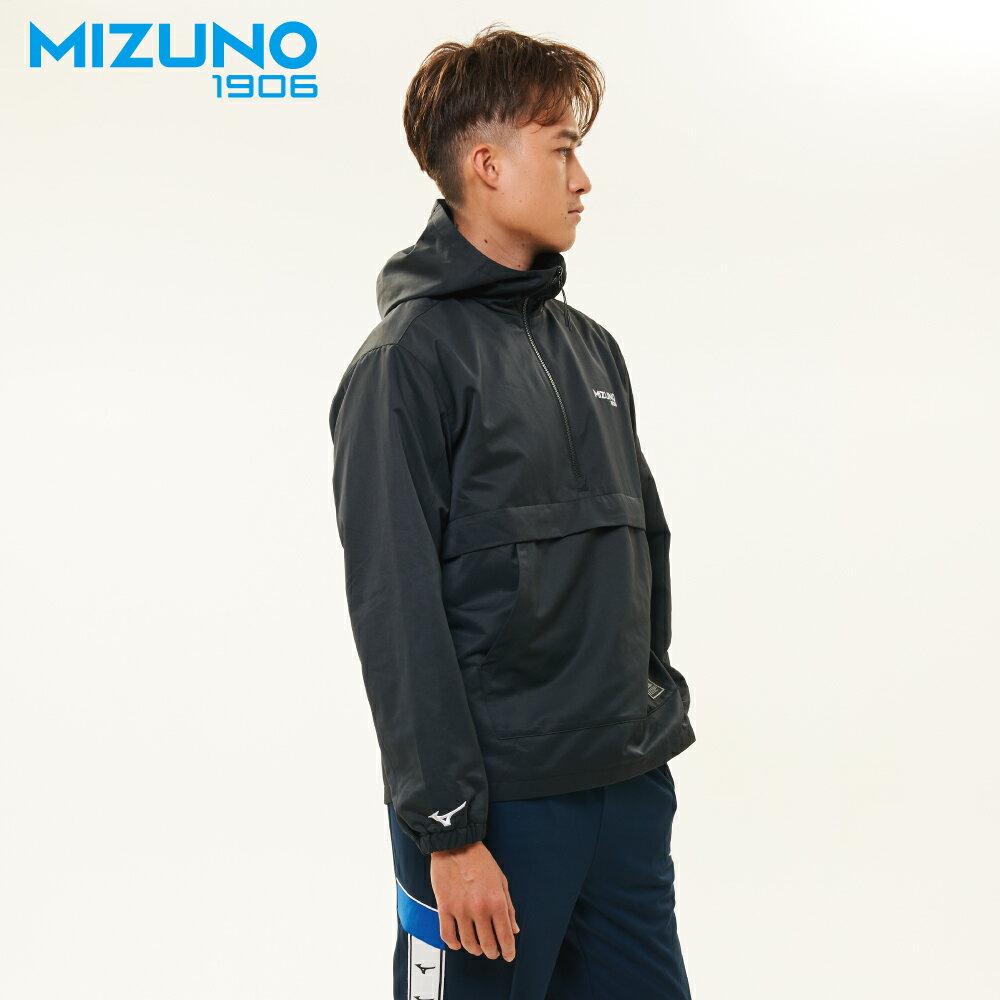 MIZUNO SPORTS STYLE 男款平織防風衣 D2TC957318(灰藍)【美津濃MIZUNO】 3