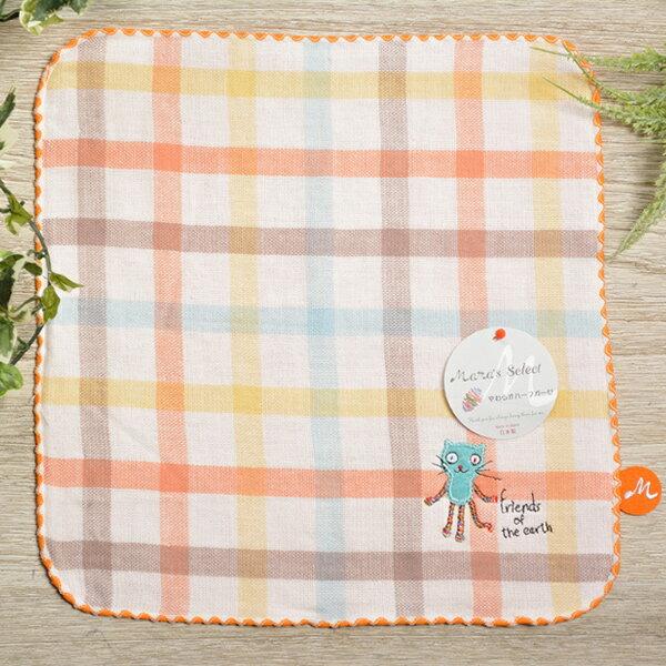 日本今治 - KONTEX - Duo方巾(橘)《日本設計製造》
