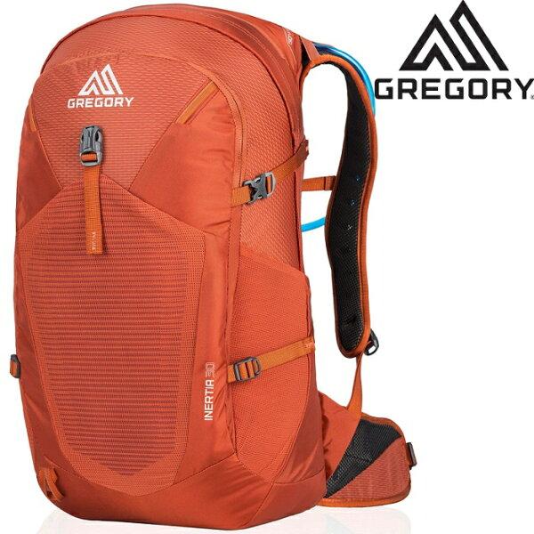 GregoryInertia30登山背包郊山小背包透氣背網包男款30升924876397亞鐵橘台北山水