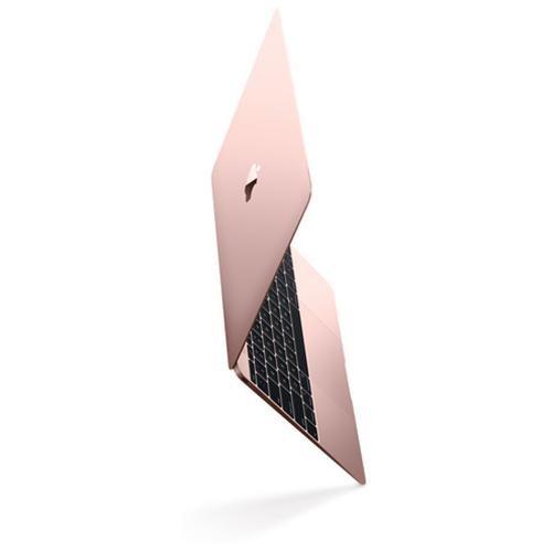 "Apple MacBook MNYM2LL/A 12"" LCD Notebook - Intel Core M (7th Gen) Dual-core (2 Core) 1.20 GHz - 8 GB LPDDR3 - 256 GB SSD - Mac OS Sierra - 2304 x 1440 - In-plane Switching (IPS) Technology, Retina Display - Rose Gold - Intel HD Graphics 615 LPDDR3 - Bluet"