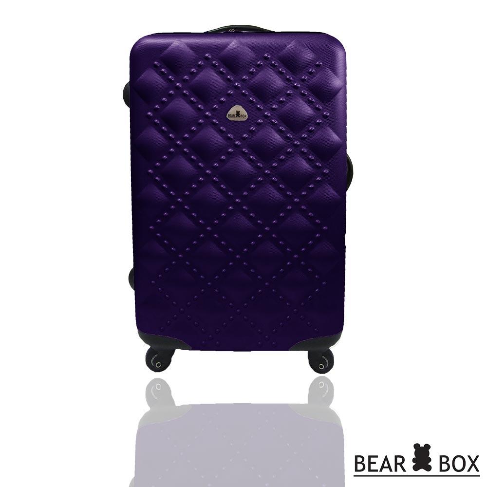 BEAR BOX時尚香奈兒系列ABS霧面24吋輕硬殼旅行箱 / 行李箱 4