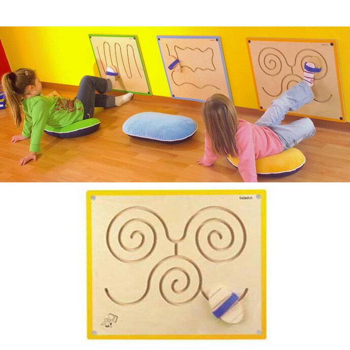 【華森葳兒童教玩具】益智邏輯系列-牆板遊戲-蝴蝶圈圈 K2-23621