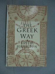 【書寶二手書T8/原文小說_HOA】The Greek Way_Hamilton, Edith