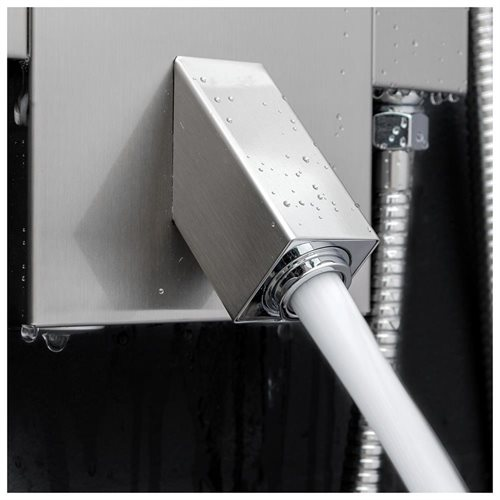 "47.6"" Shower Panel Function Wand Handheld Spout Tub Wall Mount Rainfall Style System AK822322 2"