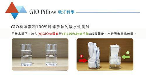 GIO Pillow 超透氣護頭型枕-M號 (藍 / 白 / 粉)【悅兒園婦幼生活館】 6