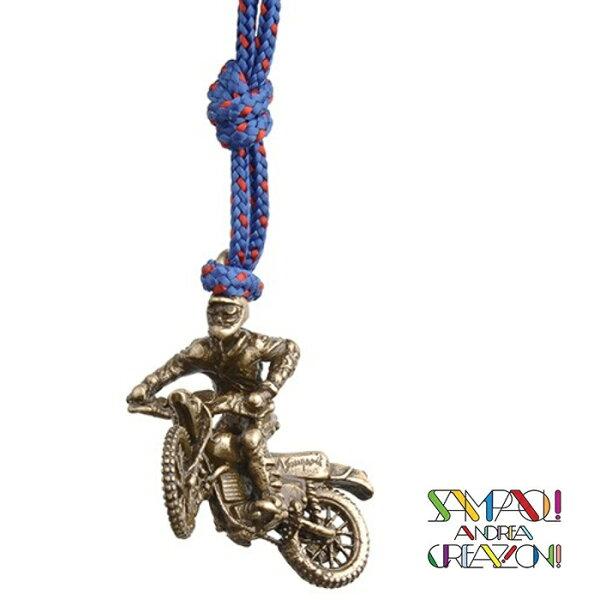 【SAC義大利】青銅掛飾吊飾-越野機車義大利傳統飾品工藝SAC250