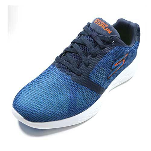 SKECHERS(男)跑步系列GORUN600輕量休閒基礎慢跑鞋運動鞋-55068NVBL藍【陽光樂活】