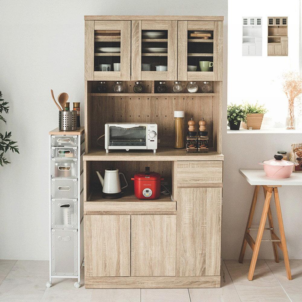 廚房收納/餐廚櫃/收納櫃 夏佐雙層收納廚房櫃180cm 完美主義【N0058】