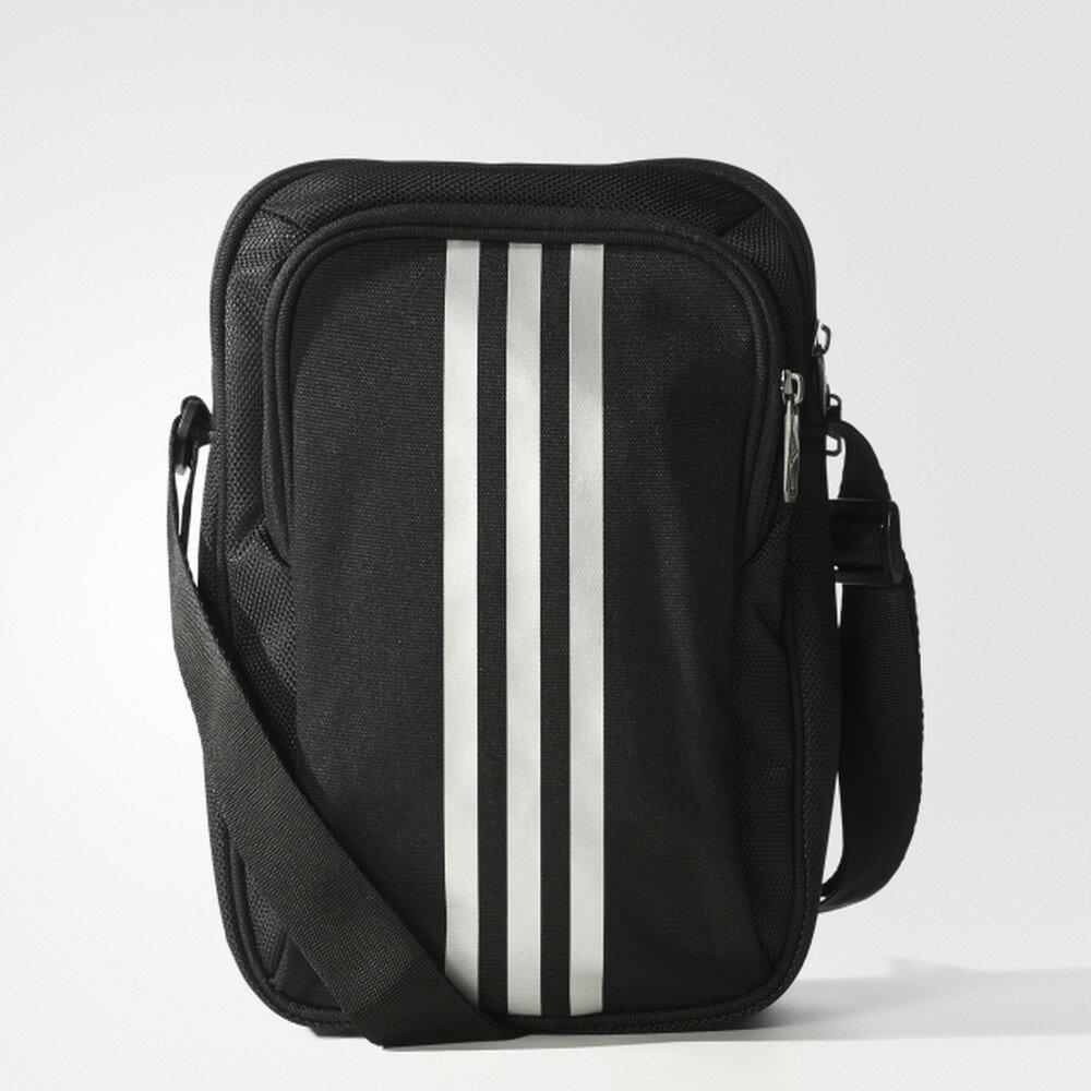 Adidas Adidas PLTORG 3 背包 側背包 輕量 雙層 休閒 18x8x26 黑 【運動世界】S02196
