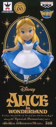日版 WCF 迪士尼 特別版 珍珠色 Story.00 Special Memories VOL.1 單售 愛麗絲 Alice 公仔